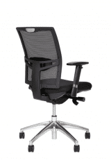 Black Upholstered Net covered Office Chair number 31