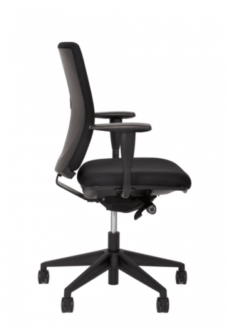 Black Office chair number 34 (side view)