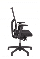 Black Mesh and Fabric Office Chair number 38